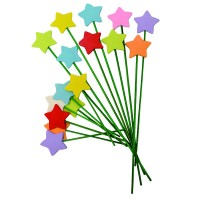 Zvezdice na štapiću 40/1(5cm)   0070