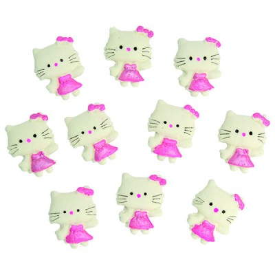 Hello Kitty - stikeri 10/1 (3 cm)   0204