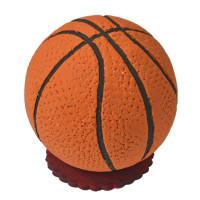 Košarkaška lopta, velika na podlozi (11 cm)